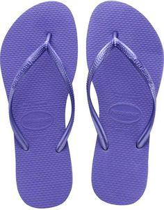 Havaianas New Slim Flip Flops Youth Sandals Royal Beetroot