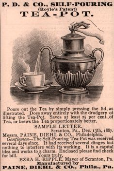 The Self-Pouring Teapot