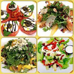 all at Fernandos Dockside Grille Portuguese Sausage, Mediterranean Recipes, Clams, Sangria, Caprese Salad, Tropical, Restaurant, Food, Insalata Caprese