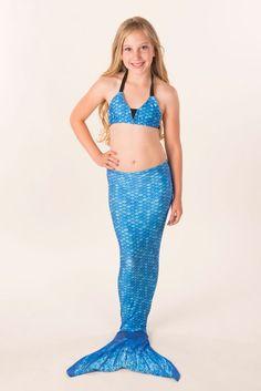 Mermaid Tail in Arctic Blue
