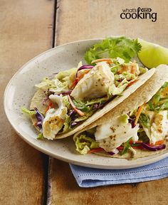 Zesty Lime Fish Tacos #recipe