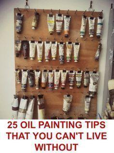Oil Paint More #OilPaintingTips #OilPaintingIdeas