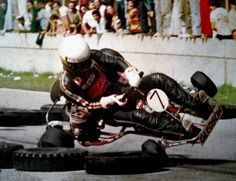 Senna karting in 1982? at the World Karting Championship in Kalmar, Sweden.