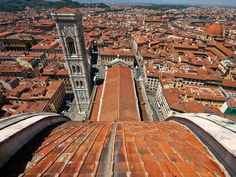Photograph by Mike Pistone, My Shot    Seen from the top of the Basilica di Santa Maria del Fiore, Florence.
