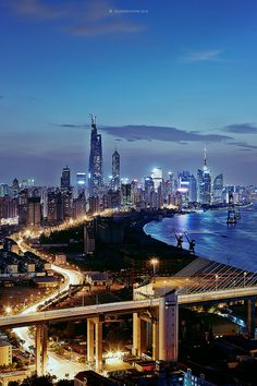 引桥 / approach | by blackstation World Cities, China, My Land, Aerial Photography, Great View, Tibet, Shanghai, Hong Kong, Paris Skyline