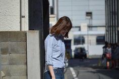 BLUE SHIRT!! |GREED International FUKUOKA
