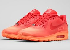 """Women's Nike Air Max 90 Hyp """"Milan"""" (Aperitivo) Air Max Sneakers, New Nike Sneakers, Adidas Shoes Outlet, Shoes Sneakers, Nike Tennis, Nike Air Max, Ar Max, Air Max 90 Hyperfuse, New Sneaker Releases"""