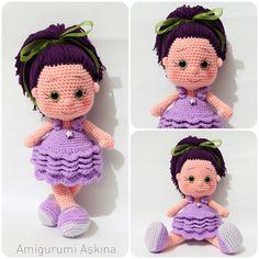 Amigurumi Yıldız Bebek-Amigurumi Star Doll #amigurumi #amigurumidoll #crochettoys #crochetdoll