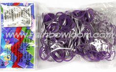 Purple (Medieval) | Rainbow loom