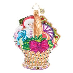 Christopher Radko Delicious Delights Ornament