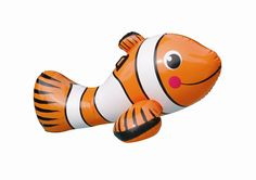Clown Fish Ride-On Pool Toy