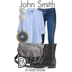 """John Smith"" by leslieakay on Polyvore"