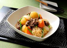 圧力鍋で作る 肉じゃが (レシピNo.2225)|ネスレ バランスレシピ