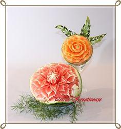 Gallery: Fruit schnitzen www.petras-kreativoase.de