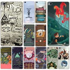 Harry Potter and the Sorcerer's Stone Hard Case for Huawei P9 P8 Lite P9 Plus P6 P7 G7 & Honor 6 7 4C 4X