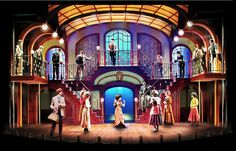 Hello, Dolly! Maltz Jupiter Theatre. Scenic design by Paul Tate dePoo III. 2012