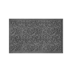 WaterGuard Halcyon Indoor Outdoor Mat, Grey