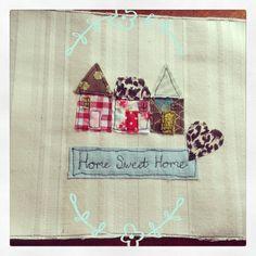 Home sweet home free machine embroidery