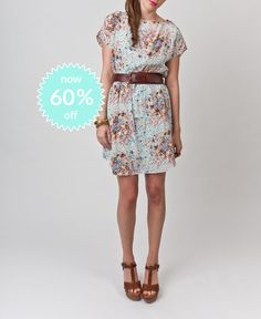 Robin Dress-Chasing Daisies on SALE!! Only size 2 and 8 left!!