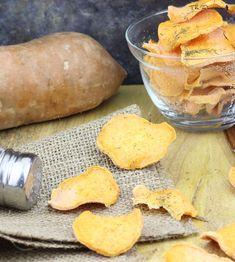 The Rawtarian: Raw yam chips