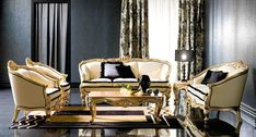 Italian Living Room Furniture Italian Classic