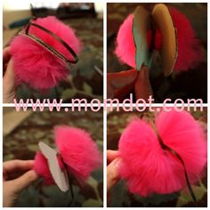 How to make a Tulle Pom Pom Ball DIY Tutorial | MomDot.com