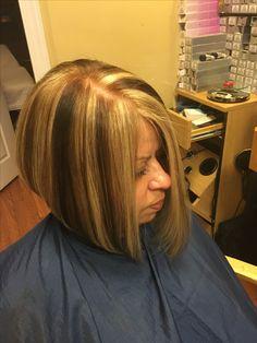 #newcolor #falllooks #hairdesignbybeth #hairtrends #highlightlowlight #shorttomediumlengthhair
