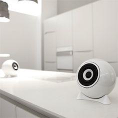 Porcelain Speakers by mo°sound Sound Speaker, Speakers, Too Cool For School, Audio Equipment, Kugel, Futuristic, Porcelain, Ceramics, Bar