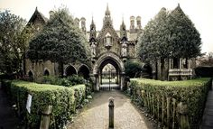 Gothic House, London.  For Sale.  Buyers must not be afraid of ghosts.