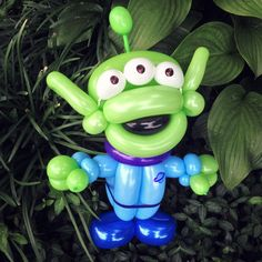 Day 282: Little Green Man (Movie: Toy Story) | 365 Days of Balloons