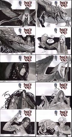 DEATH VIGIL SKETCH COVERS-2 by nebezial.deviantart.com on @deviantART