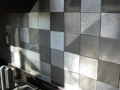 View design ideas for your home or design project in the recycled metal tile gallery from Eco-Friendly Flooring.