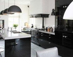 Zwart Keuken Fornuis : Beste afbeeldingen van keukeninspiratie home kitchens