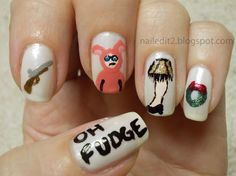 Never Gonna Give You Up: Inspired by a Holiday Movie: A Christmas Story Nails...