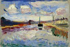 Canal du Midi, 1898.  Matisse.