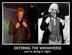 As his William Hartnell impression shows. | 23 Reasons To Love Peter Capaldi