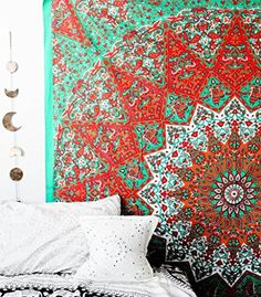 Tapestry Hippie Elephant Mandala Indian Traditional Beach Throw Wall Art College Dorm Bohemian Wall Hanging Boho Queen Bedspread Tapestries Sketched Hand 01