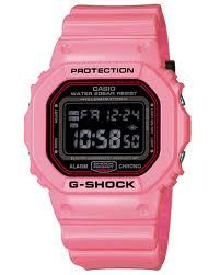 Pink Casio Face G-Shock Watch