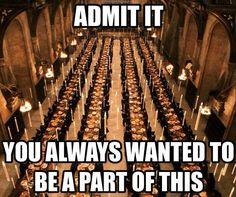 admit it! - Harry Potter Memes