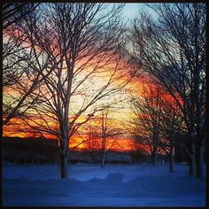 Beautiful close to the day....from Madison Wisconsin - @Frank LeFevre- #webstagram