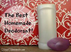 home made deodorant