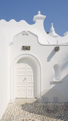 white door