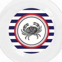 Blue Crab Plate by A