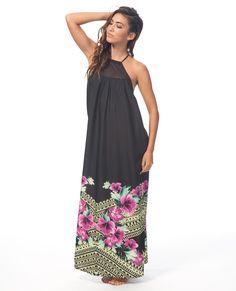 Rip Curl Womens Dress Spanish Garden Maxi Black