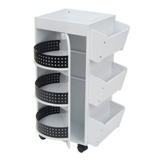 New ideas for mobile craft storage shelves Craft Room Storage, Room Organization, Storage Shelves, Storage Spaces, Shelving, Baking Organization, Craft Tables With Storage, Craft Shelves, Sewing Room Storage