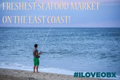 The best seafood can be found on the secluded and unspoiled beaches of the Outer Banks, NC!  #travel #wanderlust #foodie