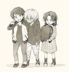 Drawing Deku Only (Part My Hero Academia Anime Siblings, Anime Child, Anime Guys, Manga Anime, Anime Love, Character Concept, Character Design, Anime Akatsuki, Detektif Conan