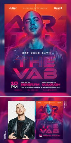 DJ Flyer PSD Template - and square flyer format Print Templates, Psd Templates, Flyer Template, Graphic Design Inspiration, Design Ideas, Brochures, Banner Design, A4, Chill