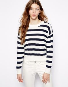 Pull&Bear Stripe Jumper