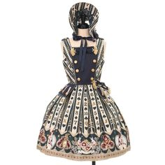 Angelic Pretty Jumper Skirt (with comb, tags), can buy direct from Japan.